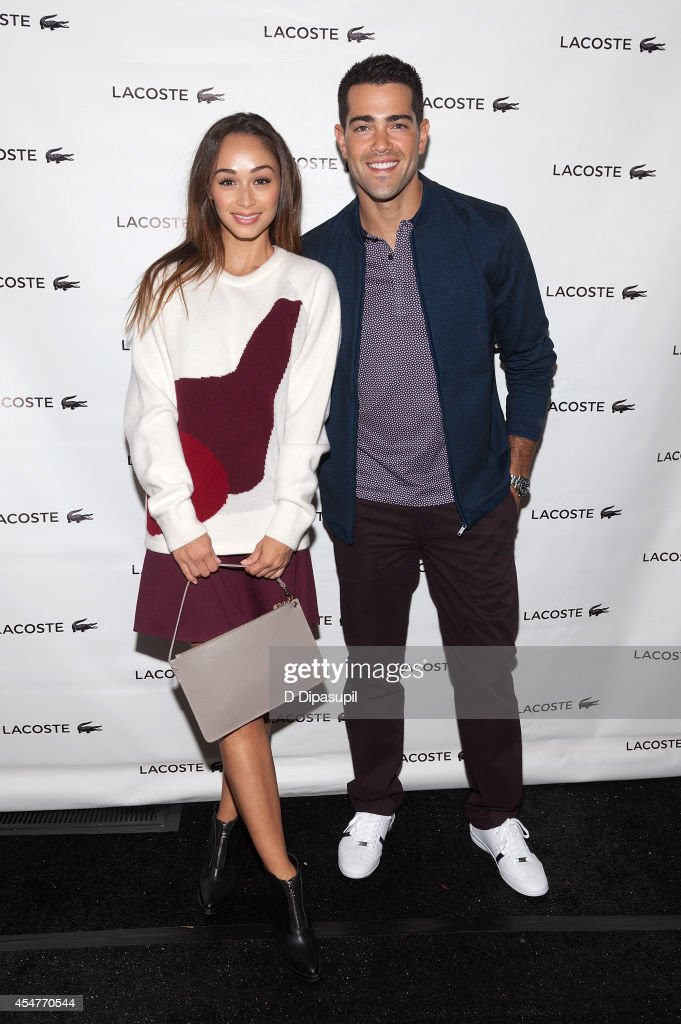 Cara Santana and Jesse Metcalfe are seen during MercedesBenz Fashion Week Spring 2015 at Lincoln Center for the Performing Arts on September 6 2014...
