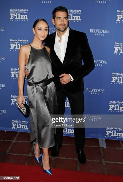 Cara Santana and Jesse Metcalfe attend the 32nd Santa Barbara International Film Festival outstanding performers of the year tribute at Arlington...