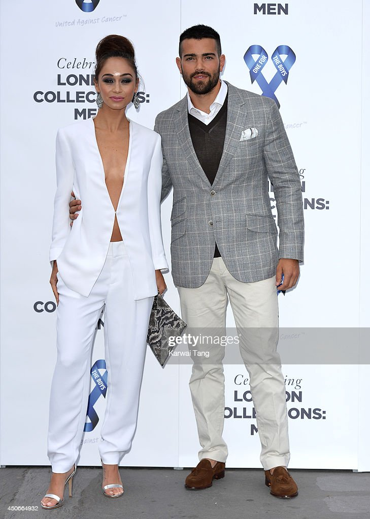 Cara Santana and Jesse Metcalfe attend the One For The Boys charity ball during the London Collections Men SS15 on June 15 2014 in London England