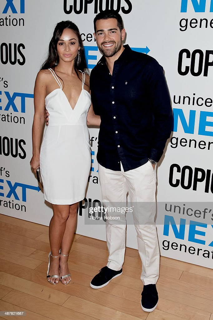 Cara Santana and Jesse Metcalfe attend the UNICEF next generation Los Angeles at SkyBar at the Mondrian Los Angeles on May 1, 2014 in West Hollywood, California.
