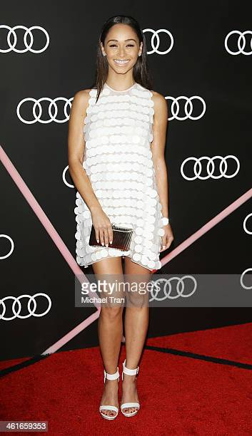 Cara Santana arrives at the Audi Golden Globe 2014 kick off cocktail party held at Cecconi's Restaurant on January 9 2014 in Los Angeles California
