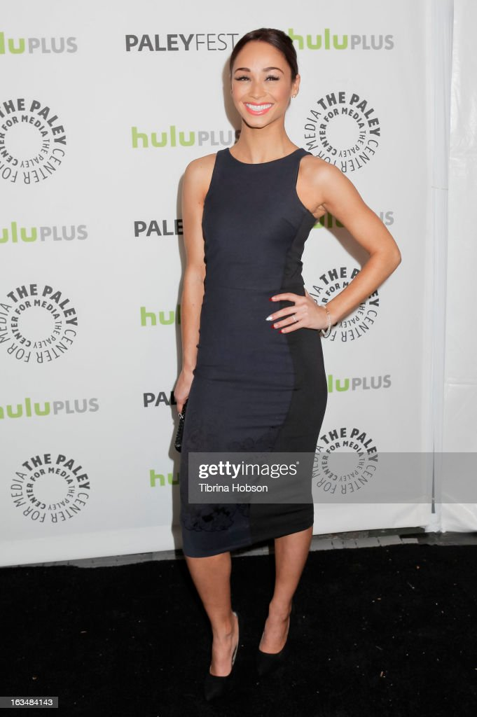Cara Santana arrives to the 30th annual PaleyFest for 'Dallas' at Saban Theatre on March 10, 2013 in Beverly Hills, California.