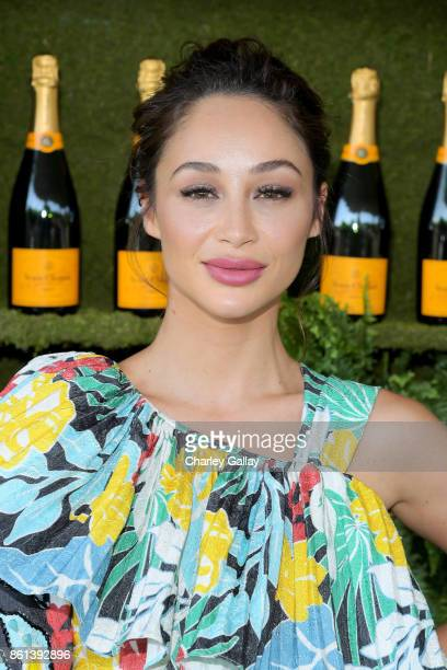 Cara Santana at the Eighth Annual Veuve Clicquot Polo Classic on October 14 2017 in Los Angeles California
