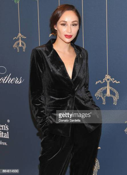 Cara Santana attends the Brooks Brothers holiday celebration with St Jude Children's Research Hospital at Brooks Brothers Rodeo on December 2 2017 in...
