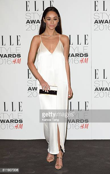 Cara Santana attends The Elle Style Awards 2016 on February 23 2016 in London England