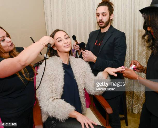 Cara Santana attends The Glam App x DERMAFLASH Host PreOscars Suite at Peninsula Hotel on February 24 2017 in Beverly Hills California