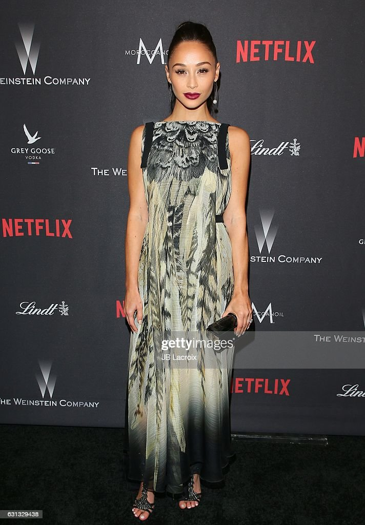 Cara Santana attends The Weinstein Company and Netflix Golden Globe Party, presented with FIJI Water, Grey Goose Vodka, Lindt Chocolate, and Moroccan Oil at The Beverly Hilton Hotel on January 8, 2017 in Los Angeles, California.