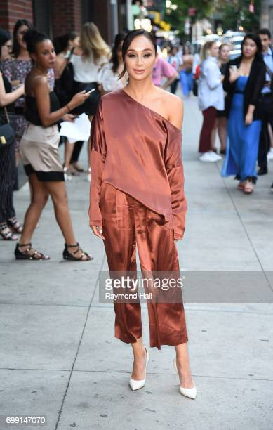 Cara Santana is seen in walking in Soho on June 20 2017 in New York City