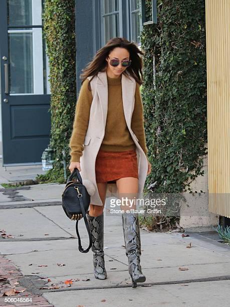 Cara Santana is seen on January 20 2016 in Los Angeles California