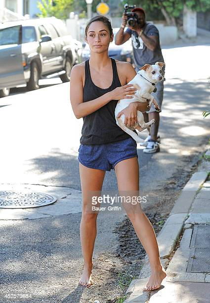 Cara Santana is seen on July 23 2014 in Los Angeles California