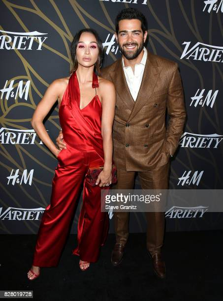 Cara Santana Jesse Metcalfe arrives at the Variety Power Of Young Hollywood at TAO Hollywood on August 8 2017 in Los Angeles California