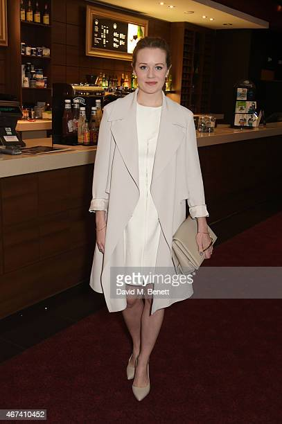 Cara Theobald attends the 'Into Film Awards' at The Empire Cinema on March 24 2015 in London England