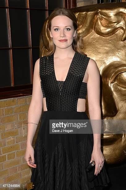 Cara Theobold arrives for the BAFTA TV Craft Awards at The Brewery on April 26 2015 in London England