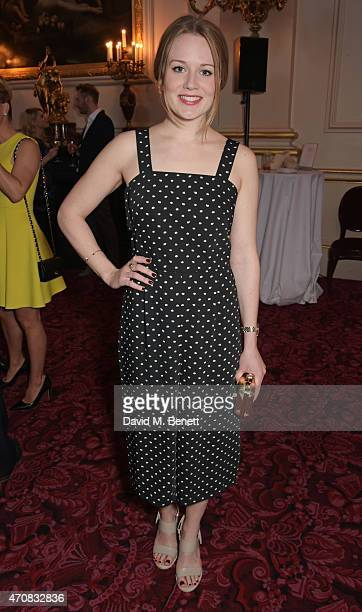 Cara Theobold attends as Audi hosts the opening night performance of 'La Fille Mal Gardee' at The Royal Opera House on April 23 2015 in London England