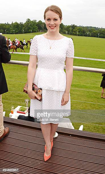 Cara Theobold attends day one of the Audi Polo Challenge at Coworth Park Polo Club on May 31 2014 in Ascot England
