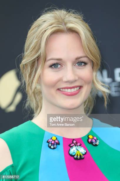 Cara Theobold attends photocall for 'Absentia' on June 17 2017 at the Grimaldi Forum in MonteCarlo Monaco