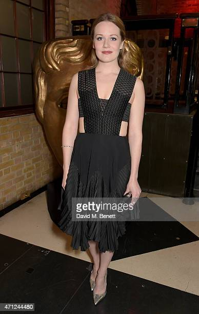 Cara Theobold attends the British Academy Television Craft Awards at The Brewery on April 26 2015 in London England