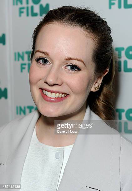Cara Theobold attends the 'Into Film Awards' at The Empire Cinema on March 24 2015 in London England