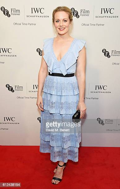 Cara Theobold attends the IWC Schaffhausen Dinner in Honour of the BFI at Rosewood London on October 4 2016 in London England