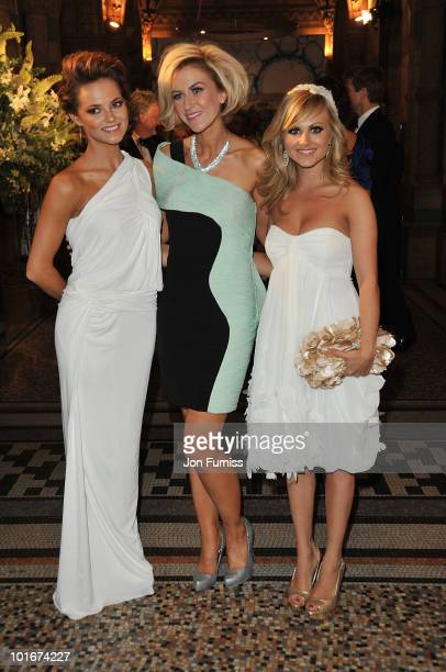 Cara Tointon Katherine Kelly and Tina O'Brien attend the Philips British Academy Television Awards after party at the Natural History Museum on June...