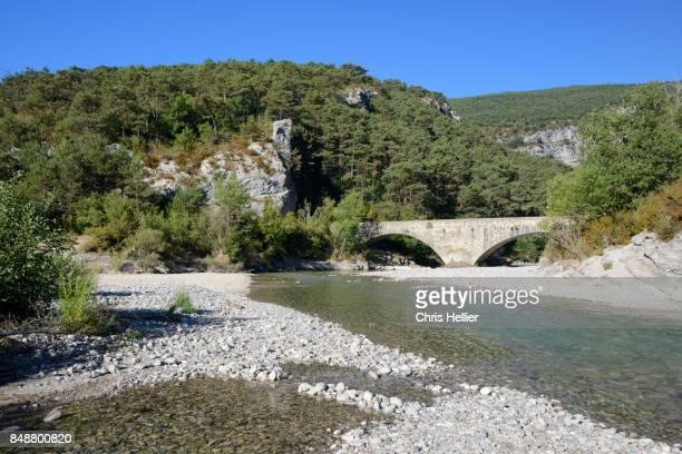 Carajuan Bridge over Verdon River Provence