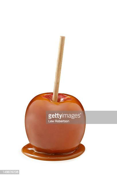 Caramel Apple on a stick