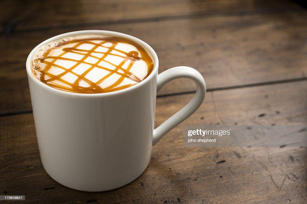Caramel Coffee : Stock Photo