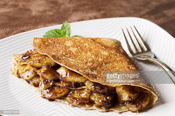 Caramelized Banana Crepe