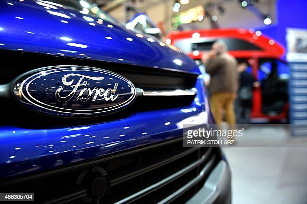 A Caravan of US car maker Ford is on display at the expo 'Caravan Salon Duesseldorf' at the fair grounds in Duesseldorf western Germany on September...