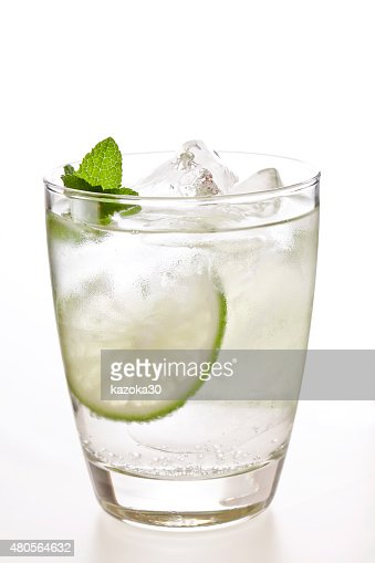 Carbonated water : Stock Photo