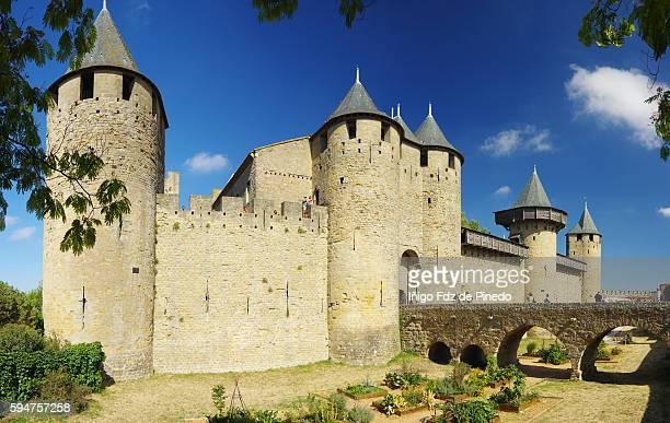 Carcassonne- La Cité- Midi- Pyrénées- France