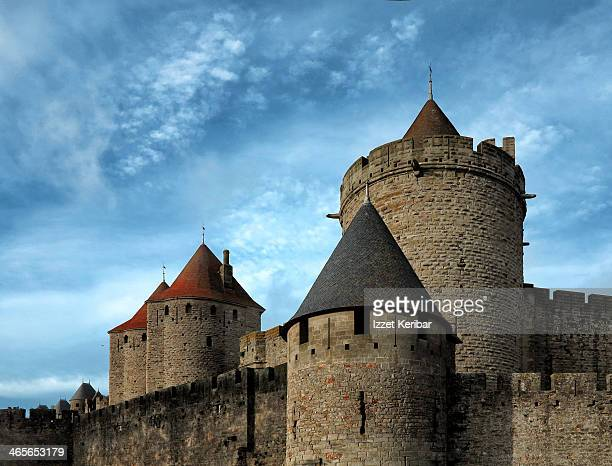 Carcassonne walls and  dungeons