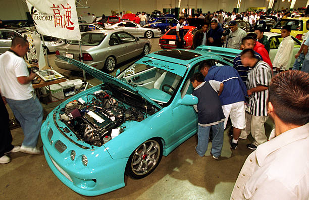 LSASIAN CARCLUBLHb At The Import ShowOff Car Show In San - Import car shows near me