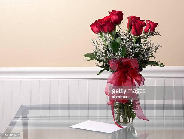 Carte et Roses