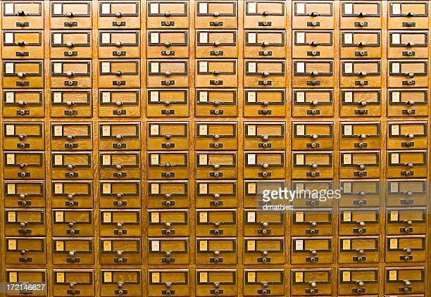 Card Catalogue up close