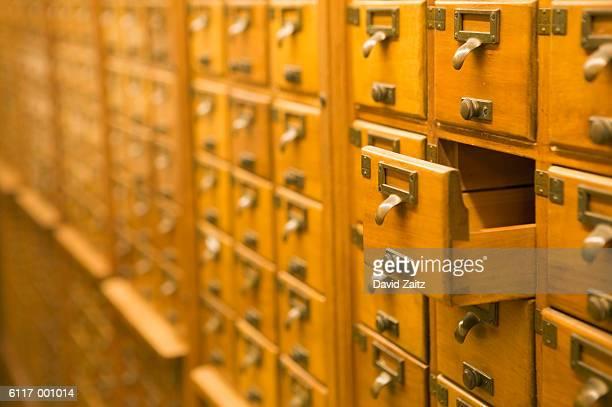 Card File Drawers
