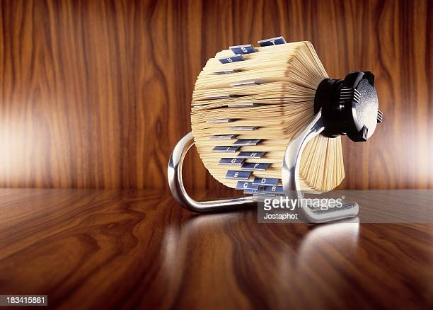 A card filer for organizational purposes