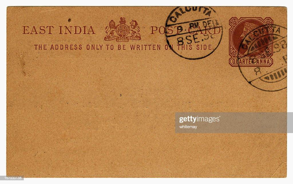 Card from Calcutta