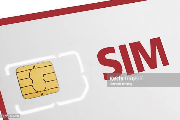SIM Card in Holder