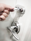 Card Key Electronic Door Lock Security