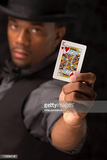 Card shark the king of hearts