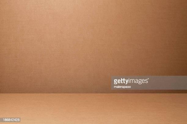 Cardboard backdrop
