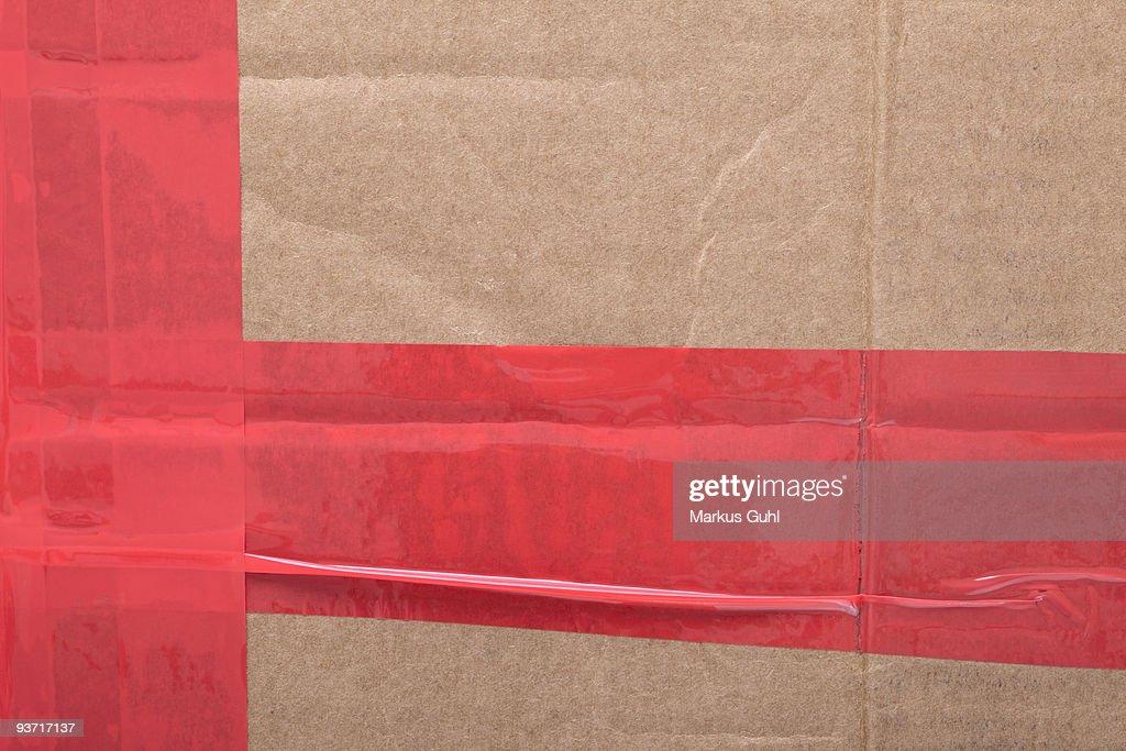 Cardboard background : Stock Photo