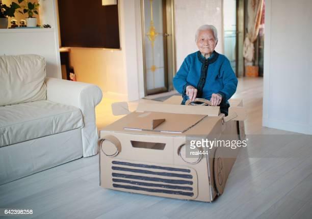 Cardboard car