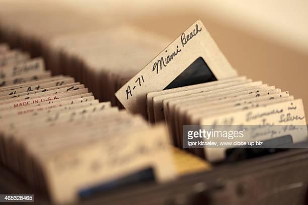 cardboard framed slides