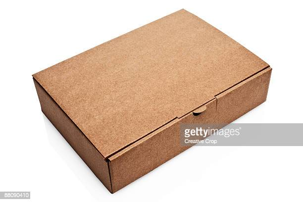 Cardboard postage box