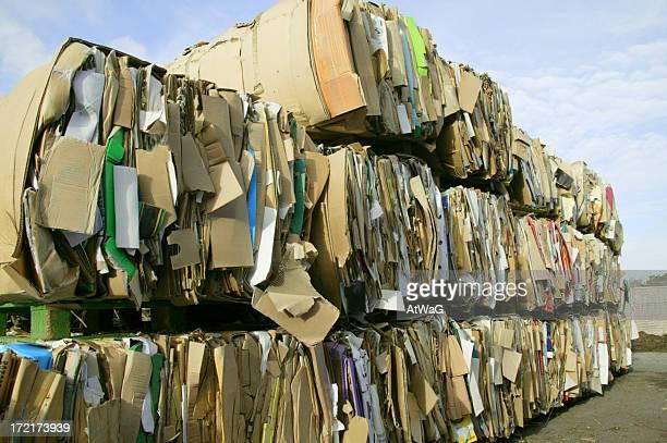 Pila de cartón
