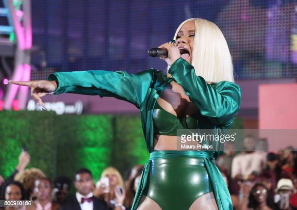 Cardi B at the Post Show for the 2017 BET Awards on June 25 2017 in Los Angeles California