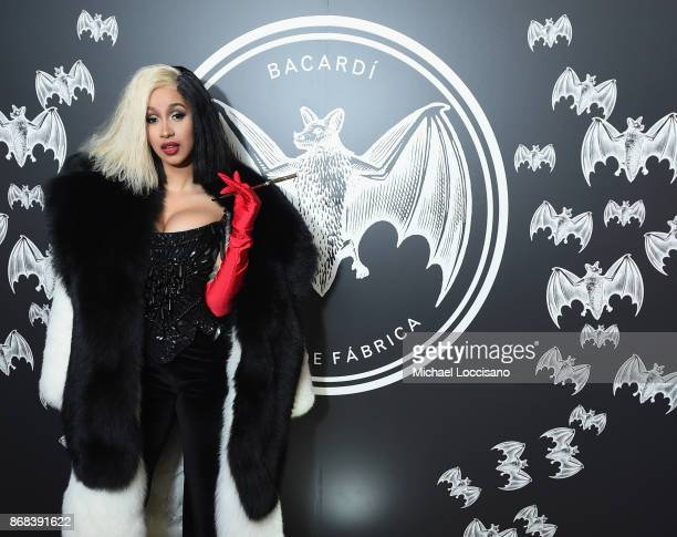 Cardi B attends BACARDI presents Dress To Be Free with performances by Cardi B and Les Twins at House of Yes on October 30 2017 in New York City