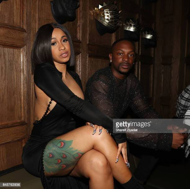 Cardi B attends La Queen Smith After Party at 1OAK on September 10 2017 in New York City